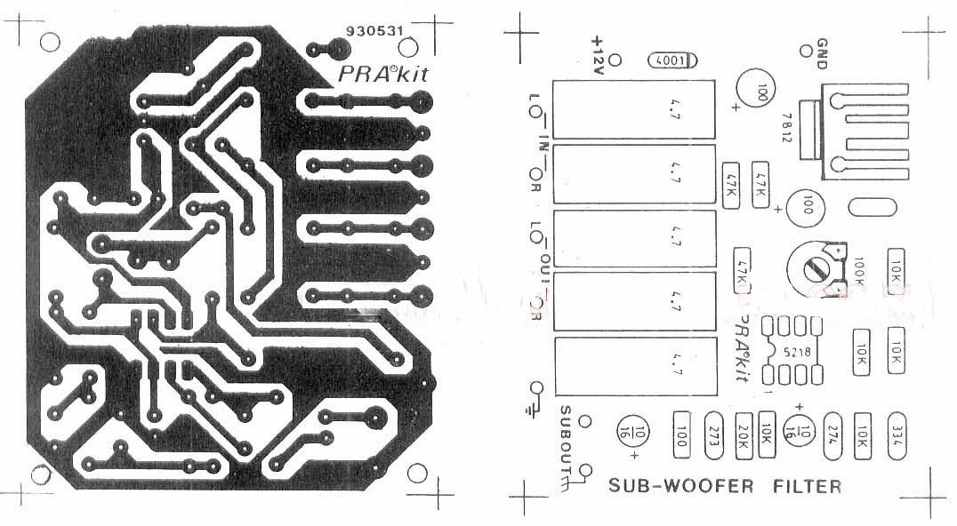 Admirable Subwoofer Preamp Circuit Diagram Amplifiercircuits Com Wiring 101 Capemaxxcnl